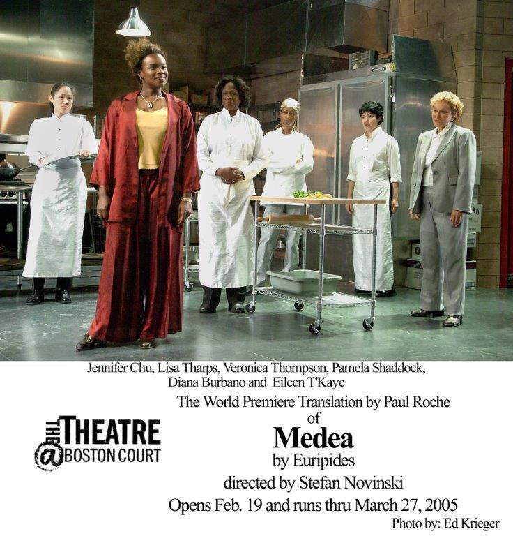 Pamela Shaddock in Medea