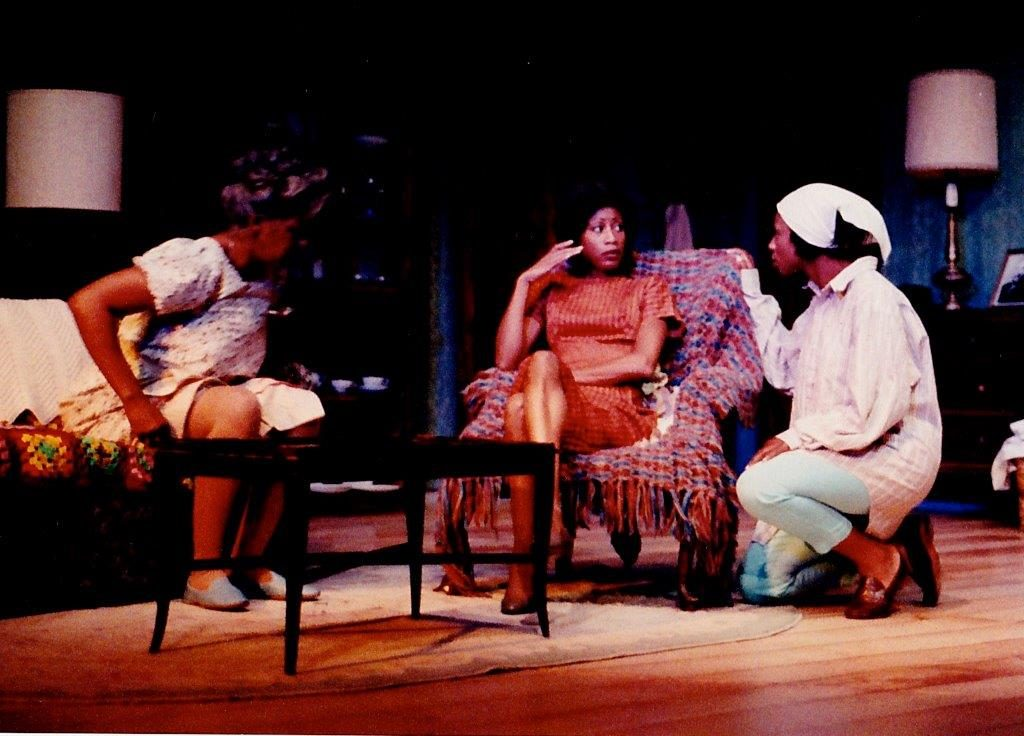 Pamela Shaddock with Elisa Perry in A Raisin in the Sun